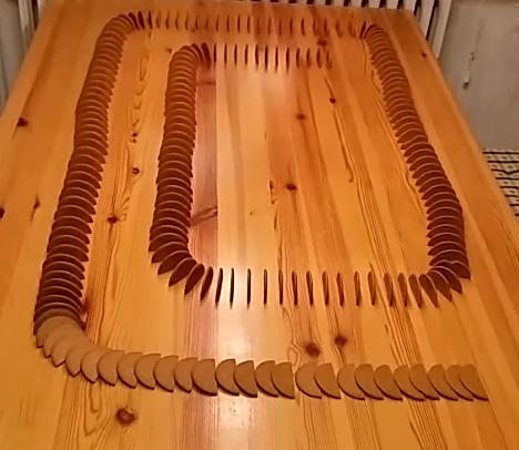 Pepparkaks domino 2