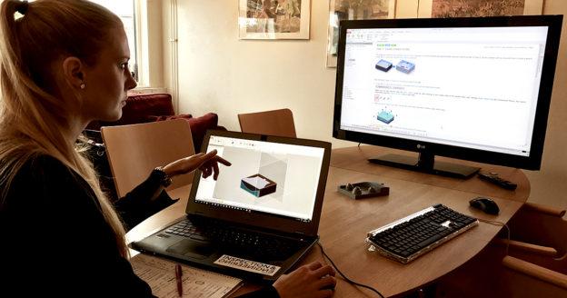 Sanna utbildning 3D scanning ocg Reverse Engineering