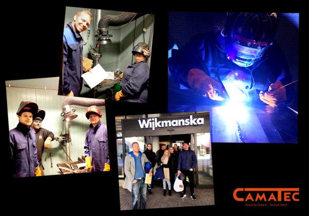 Svetskurs för konstruktörer Camatec